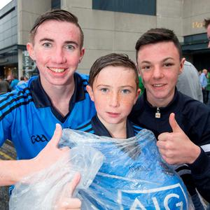 Ryan and Fionn Clinch and Jordan McGrath, Tallaght