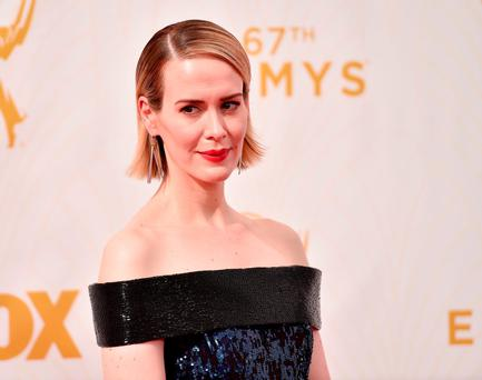 Actress Sarah Paulson attends the 67th Emmy Awards at Microsoft Theater on September 20, 2015 in Los Angeles, California. 25720_001 (Photo by Alberto E. Rodriguez/Getty Images for TNT LA)