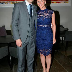 Alan and Lydia Brogan at the All Ireland Celebration Banquet in The Gibson Hotel