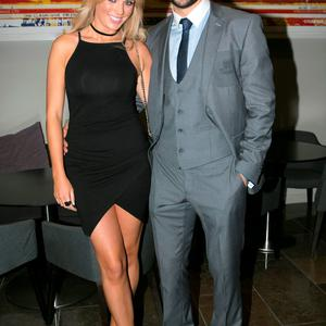 Danielle Byrne and Cian O'Sullivan at the All Ireland Celebration Banquet in The Gibson Hotel