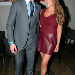 Paddy Andrews and Doireann Gately at the All Ireland Celebration Banquet in The Gibson Hotel