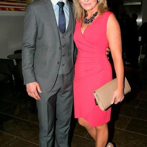 Denis and Jody Bastick at the All Ireland Celebration Banquet in The Gibson Hotel