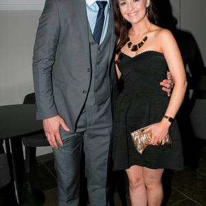Diarmuid Connolly and Ciara Chaney at the All Ireland Celebration Banquet in The Gibson Hotel