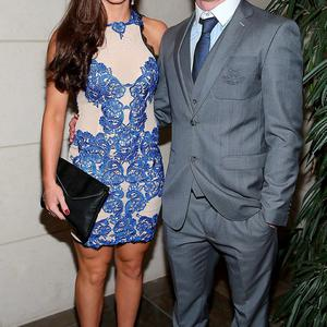 Dublin Player Ciaran Kilkenny and Lorraine O Shea at the Gibson Hotel All Ireland Post Match Banquet at the Gibson Hotel ,Dublin Picture Brian mcEvoy No Repro fee for one use
