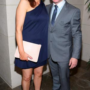 Dublin manager Jim Gavin and wife Jennifer Gavin at the Gibson Hotel All Ireland Post Match Banquet at the Gibson Hotel ,Dublin Picture Brian mcEvoy No Repro fee for one use