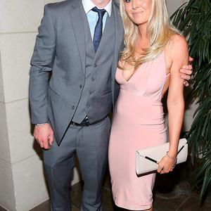 Dublin player Michael Darragh MacAuley and Rosie Cooney at the Gibson Hotel All Ireland Post Match Banquet at the Gibson Hotel ,Dublin Picture Brian mcEvoy No Repro fee for one use
