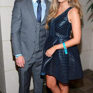 Dublin player Philly McMahon and Sarah Lacey at the Gibson Hotel All Ireland Post Match Banquet at the Gibson Hotel ,Dublin Picture Brian mcEvoy No Repro fee for one use