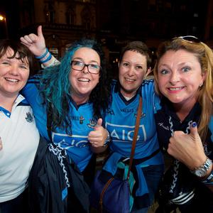 Aish Berigan, Claire Ward, Dee Leahy and Orla O'Connell pictured at Temple Bar.