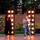 Joseph McCaul (second from right) performing during Bootcamp stage at X Factor