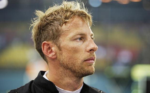 McLaren's Jenson Button,