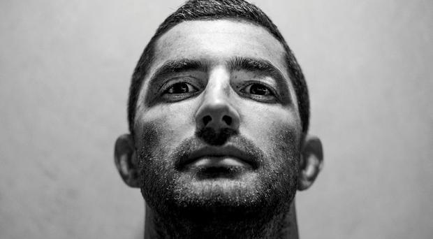Ireland's Rob Kearney poses for a portrait after a press conference today. Ireland Rugby Press Conference, 2015 Rugby World Cup, St George's Park, Burton-upon-Trent, England. Picture credit: Brendan Moran / SPORTSFILE