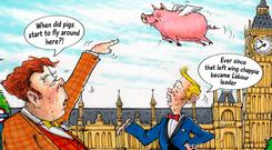 The biggest scandal in Pig Gate is not that Cameron may have made a fool of himself in college, but that a senior Tory and tax exile thought he could buy a seat in government and opted to wreak maximum personal damage on Cameron when his ambition was thwarted