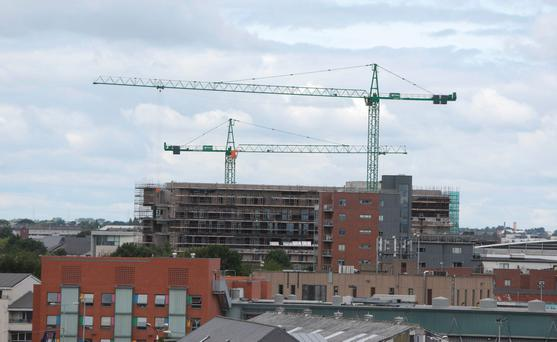 While Dublin city's population has increased by 14pc in the last decade, the provision of new housing has been almost non existent