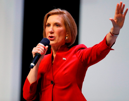 'Fiorina has suddenly become the darling of the anti-Trump crowd'