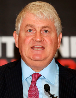 Businessman Denis O'Brien