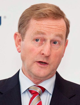 Enda Kenny spoke about the issue of rural crime