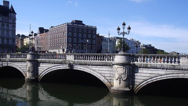 O'Connell Bridge.