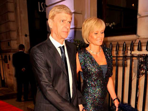 Arsene and Annie Wenger