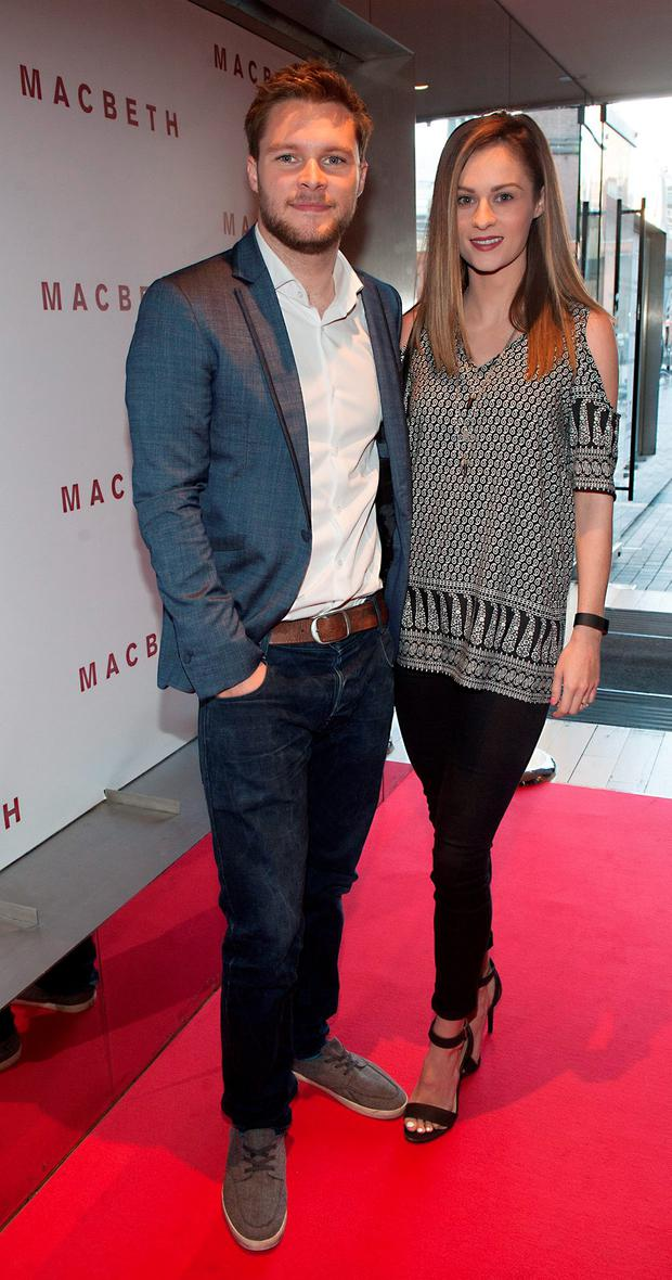 Jack Reynor and Madeline Mulqueen pictured at the preview screening of Macbeth at the Light House Cinema, Smithfield. Picture: Patrick O'Leary