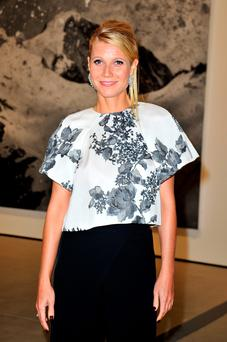 Actress Gwyneth Paltrow attends The Broad Museum Black Tie Inaugural Dinner at The Broad on September 17, 2015 in Los Angeles, California. (Photo by Jerod Harris/Getty Images)