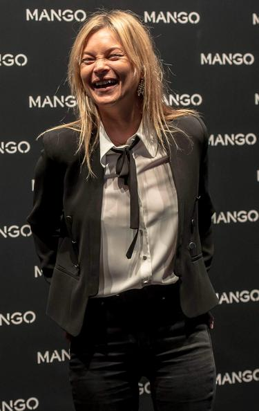 Kate Moss is back to her best in London after unflattering