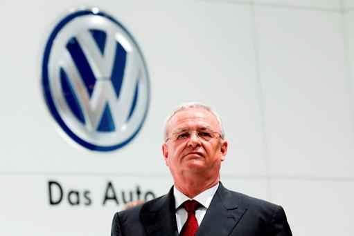 Volkswagen Chief Executive Martin Winterkorn
