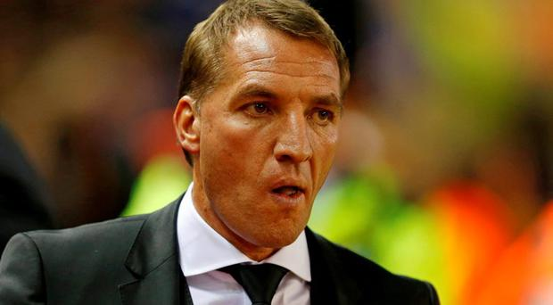 Liverpool manager Brendan Rodgers before the match Reuters / Phil Noble