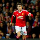 Manchester United's Andreas Pereira in action