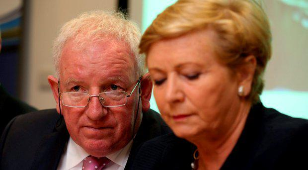 Paddy Richardson, CEO IASIO and Minister for Justice and Equality, Ms. Frances Fitzgerald TD