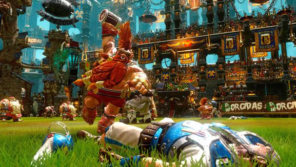 Blood Bowl 2 - You do not want to meet an angry dwarf on the pitch