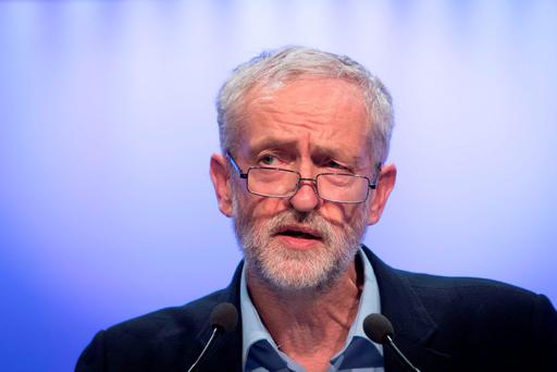 Leader of Britain's Labour Party Jeremy Corbyn