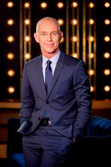 Face for TV: Ray D'Arcy made his Saturday night debut on RTE1. Photo: Andres Poveda