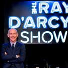 Ray D'Arcy pictured on the set of his new RT? show