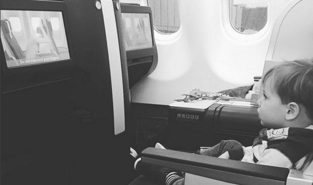 Pippa's adorable son Ollie travelling to LA