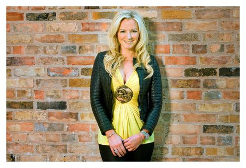 In love: Michelle Mone says she is besotted with her new man. Photo: Tony Gavin.