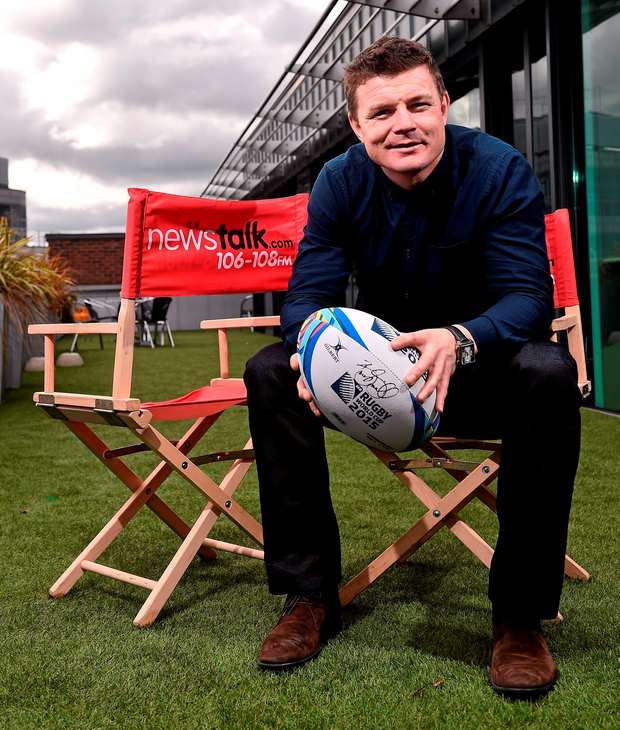 'I spoke briefly to Brian O'Driscoll in the Millennium Stadium after Ireland's win over Canada following his TV duty. And even he seemed to hope he'd made a good impression on the box'