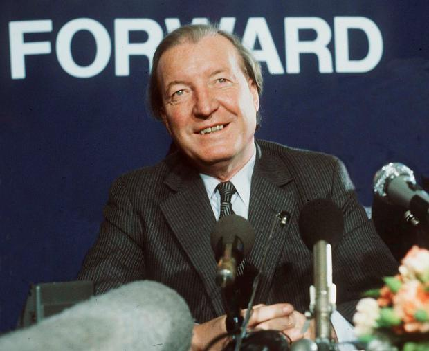 Charlie Haughey formed an unlikely friendship with British author Frederick Forsyth