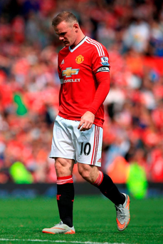Wayne Rooney is approaching 1000 minutes without a goal in the Premier League
