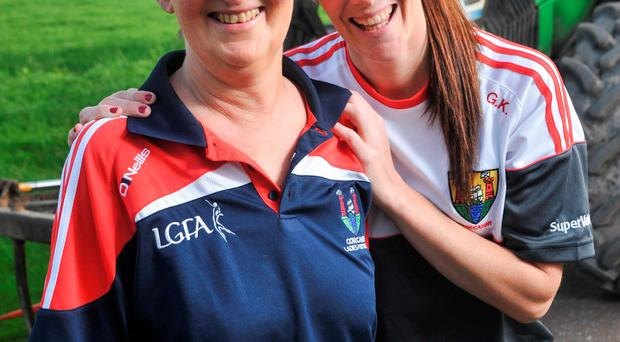 Grace Kearney with her mum Kathleen. Photo: Provision