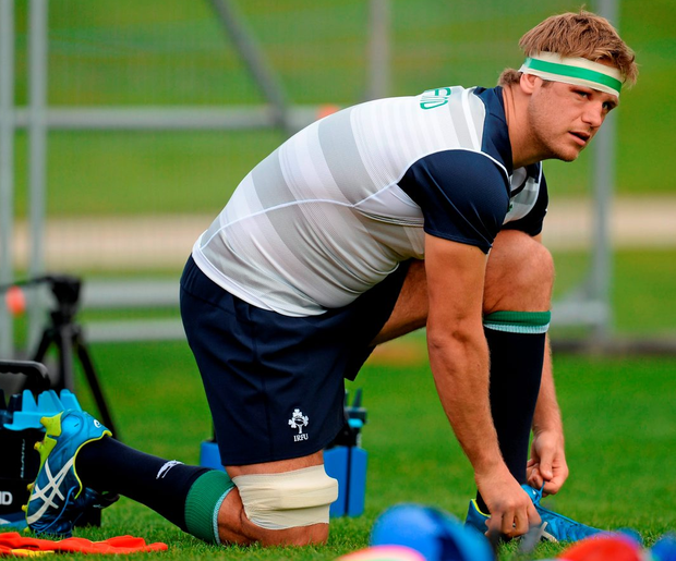 Chris Henry (pictured) gave his backing to Sean O'Brien, noting his talent in openside play