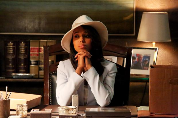 When we genuinely considered a white fedora with embellishment because Olivia pulled it off so flawlessly.