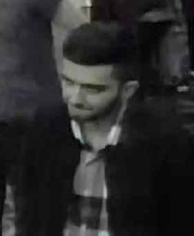 Detectives have released CCTV of a man they wish to speak to Credit: South Wales Police/PA Wire