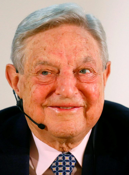 George Soros is cutting back