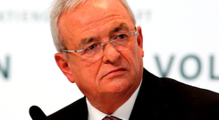 Martin Winterkorn resigned as CEO of Volkswagen earlier this week