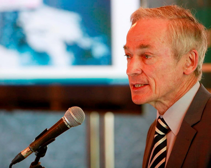 Richard Bruton acknowledged the need to grow the number of entrepreneurs in Ireland