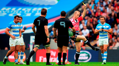 'It was a knowledgeably pointed jibe at what was the wing-forward's third yellow card in 142 Test matches. Richie gets away with loads, was the suggestion, and he's been nabbed at last'