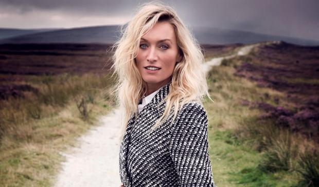 Victoria Smurfit photographed for Weekend by Barry McCall