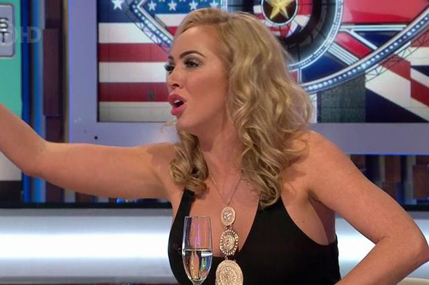 Aisleyne Horgan Wallace on Celebrity Big Brother's Bit on the Side. Picture: Channel 5