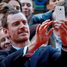 Michael Fassbender attending the UK premiere of Macbeth at the Festival Theatre in Edinburgh, Scotland. Credit: Danny Lawson/PA Wire