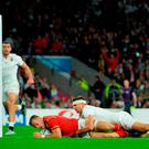 Gareth Davies scores the crucial try as Wales overcame England in stunning style at Twickenham